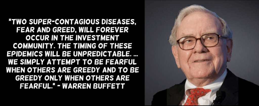 Buffett Greed and fear