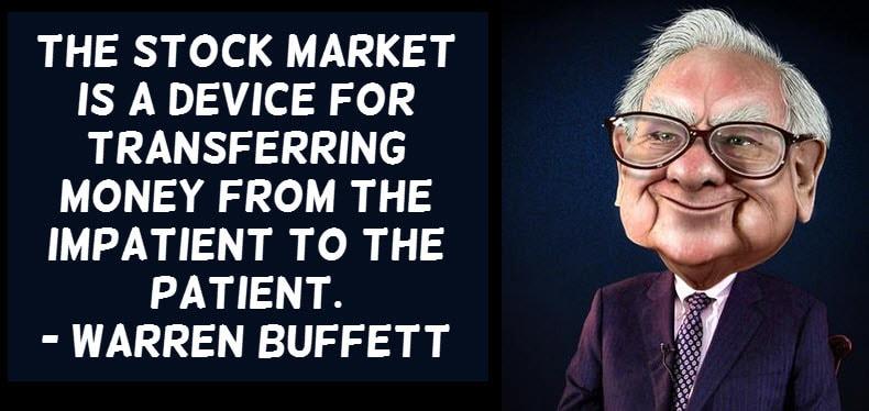 Buffett impatient