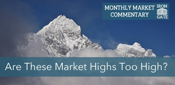 Are These Market Highs Too High? September Market Commentary