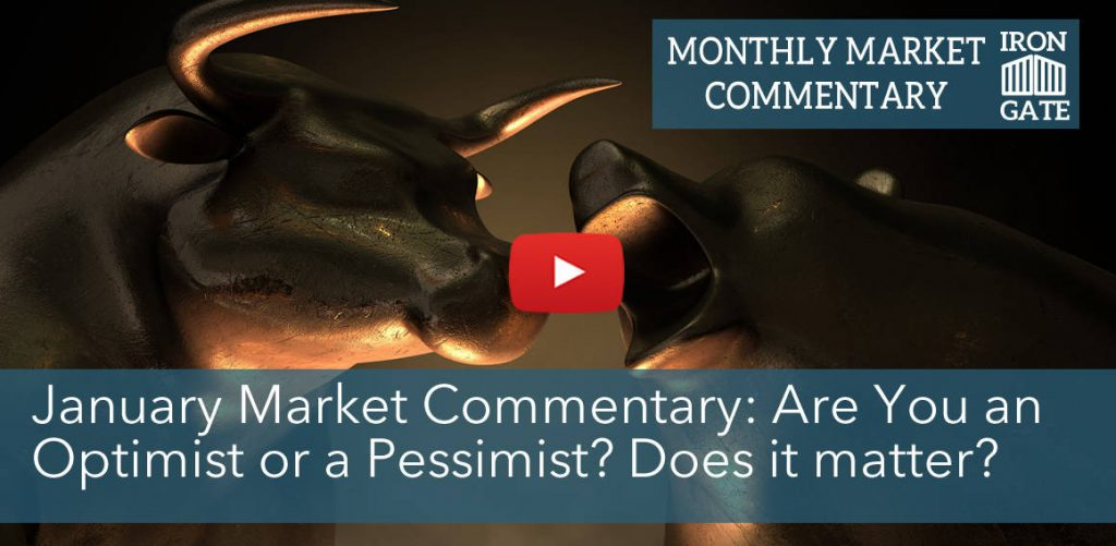 Market Commentary - Optimism or Pessimism