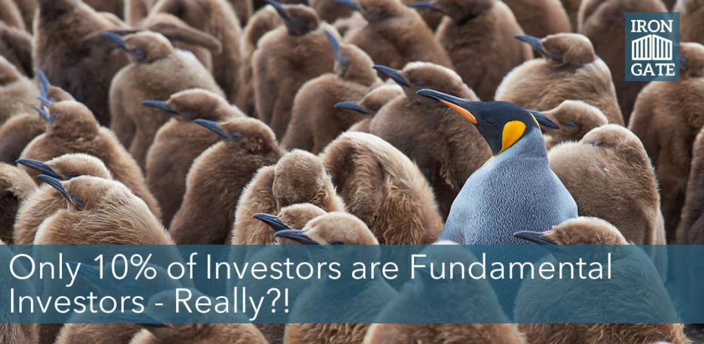 Only Ten Percent of Investors Are Fundamental Investors