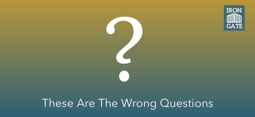 This Client Asked Two Common Questions: Here's Our Answer