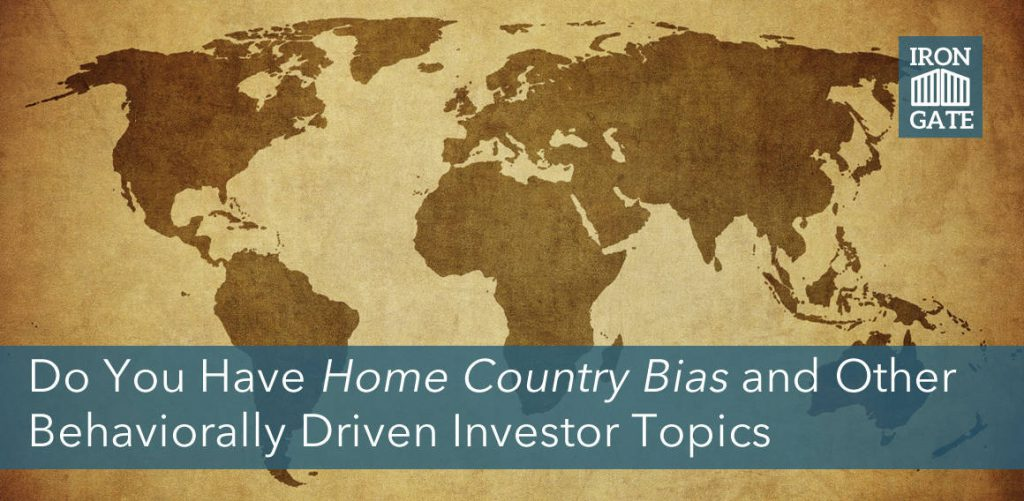 Home Country Bias - Behavioral Investing