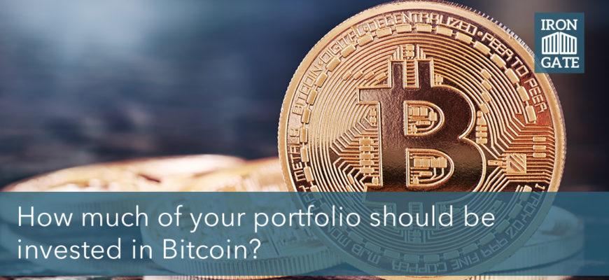 How much Bitcoin should I have in my portfolio: IGGA Podcast