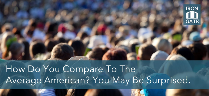 How Do You Compare To The Average American? Surprised At This.