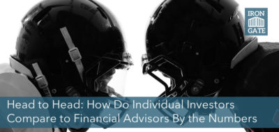 Head to head: the individual investor vs a financial advisor by the numbers.