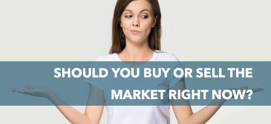 Should you buy or sell the stock market right now?