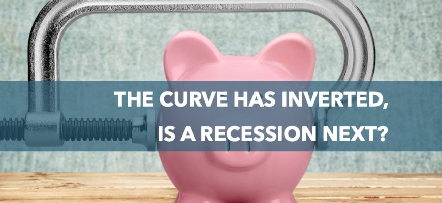 The curve has inverted, is a recession next?